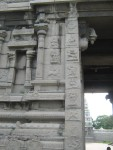 Main Gopuram - Images at the entrance