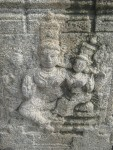 An image in the pillar - prakaram