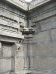 Corner - Amman Sannidhi - Notice cement plastering
